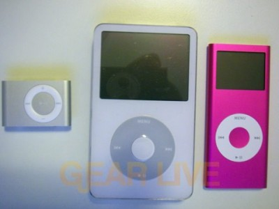 A Look At All Three iPods
