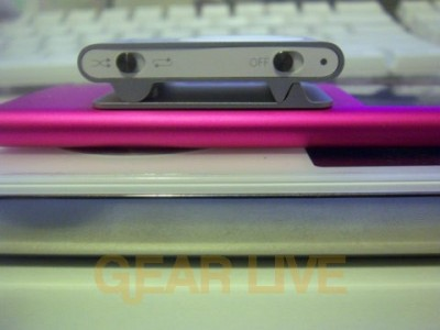 Side View of iPods Stacked