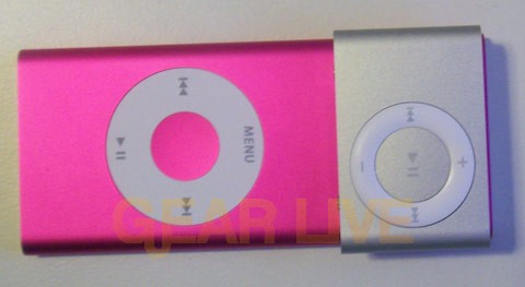 iPod shuffle covers iPod nano screen