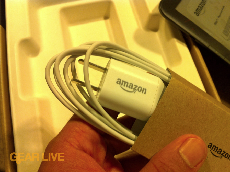 Amazon Kindle 3 charger