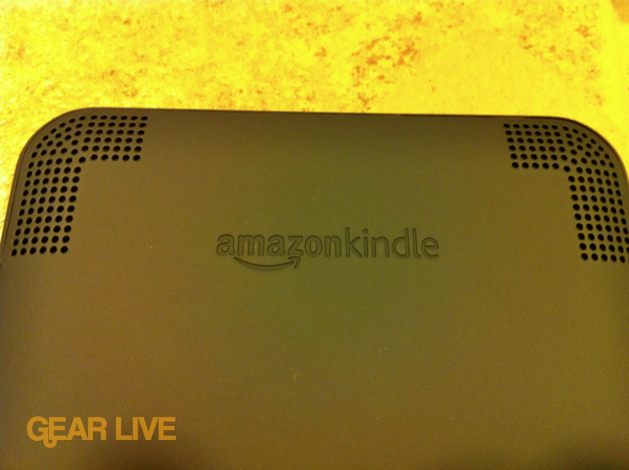 Amazon Kindle 3 speakers