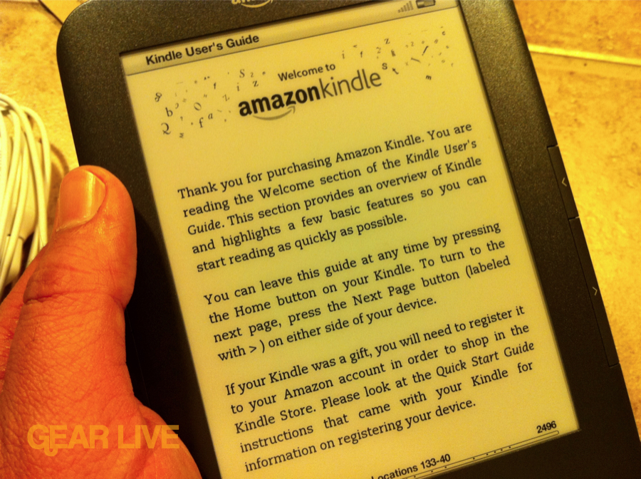 Welcome to Amazon Kindle