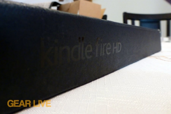 Kindle Fire HD box
