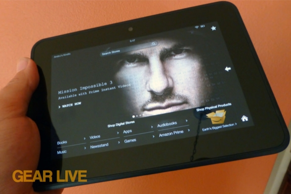 Amazon Kindle Fire HD 7 Instant Streaming