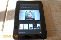 Amazon Kindle Fire HD 7 books