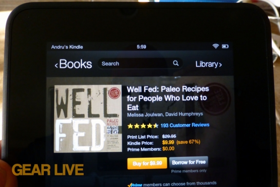 Well Fed Paleo Kindle Lending Library