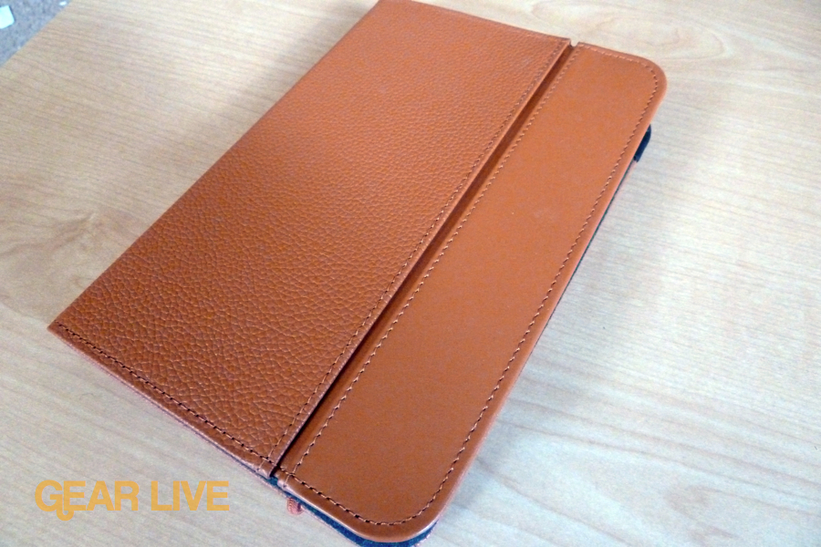 Orange Kindle Lighted Leather Cover