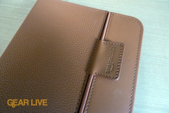 Kindle Lighted Leather Cover elastic