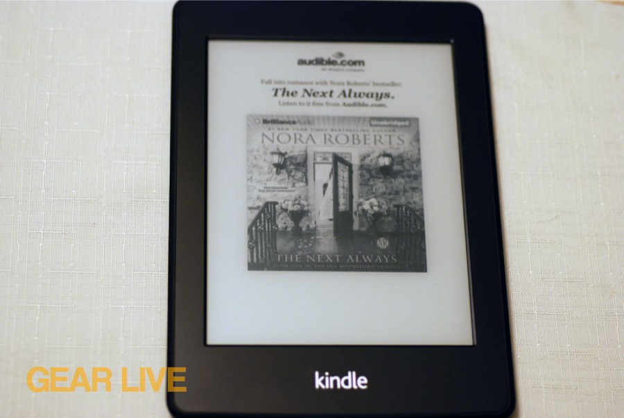 Kindle Paperwhite screensaver