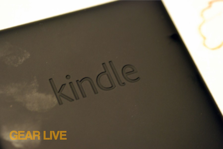 Kindle Paperwhite rear panel