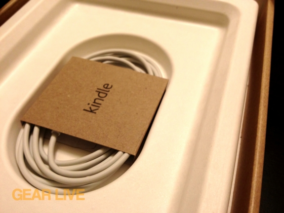 Kindle touch USB charger in box