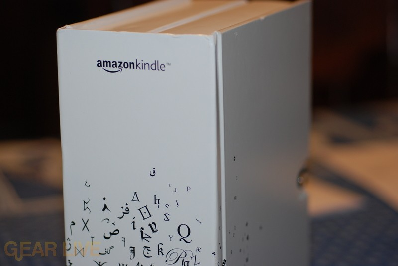 Amazon Kindle Box Spine