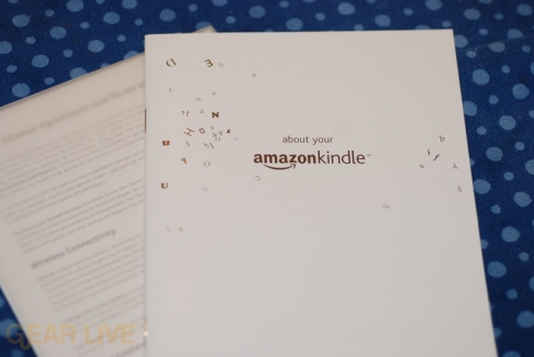 Amazon Kindle instruction manual