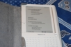 Amazon Kindle in case (Open)