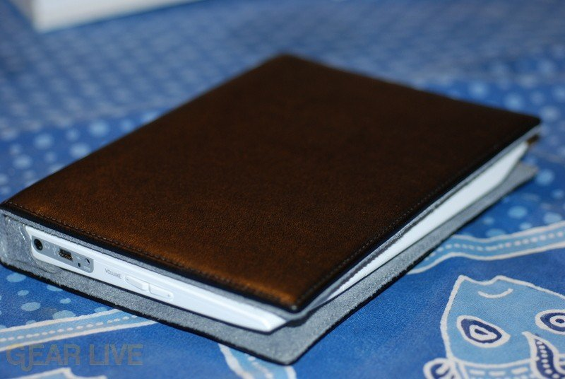 Amazon Kindle in case (Closed)