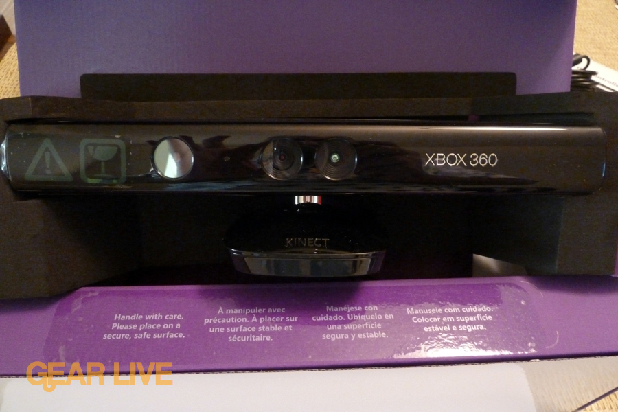 Kinect in box
