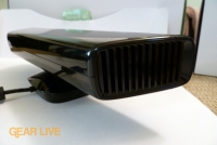 Side of Kinect sensor