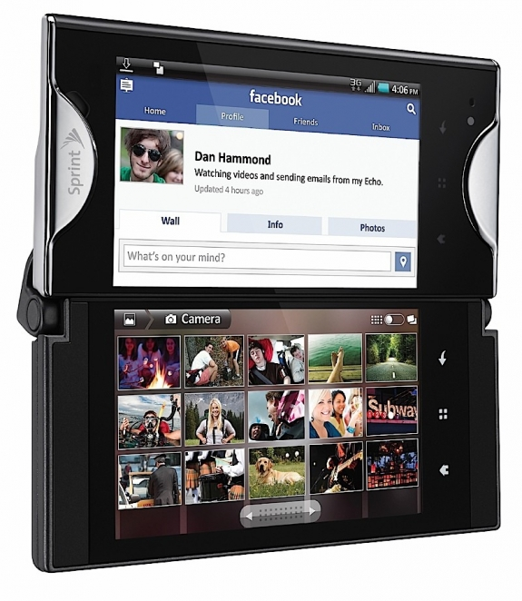Kyocera Echo dual screens