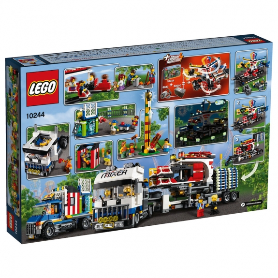 LEGO Fairground Mixer 10244 - Box rear