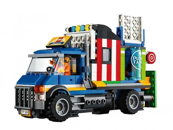 LEGO Fairground Mixer 10244 - Attraction Truck