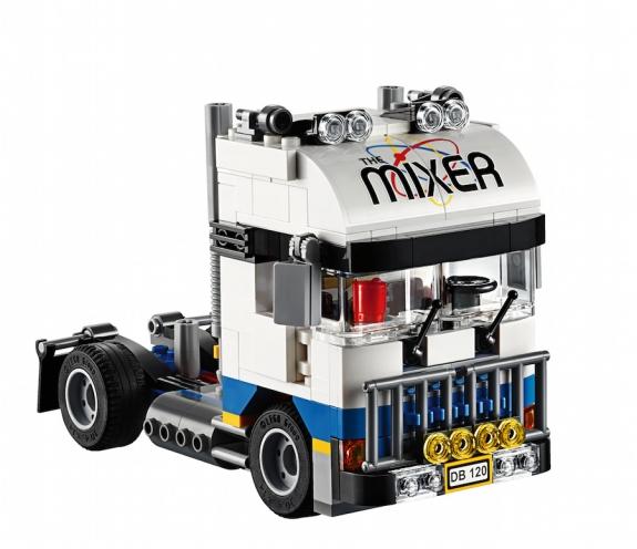 LEGO Fairground Mixer 10244 - Mixer Truck Cab