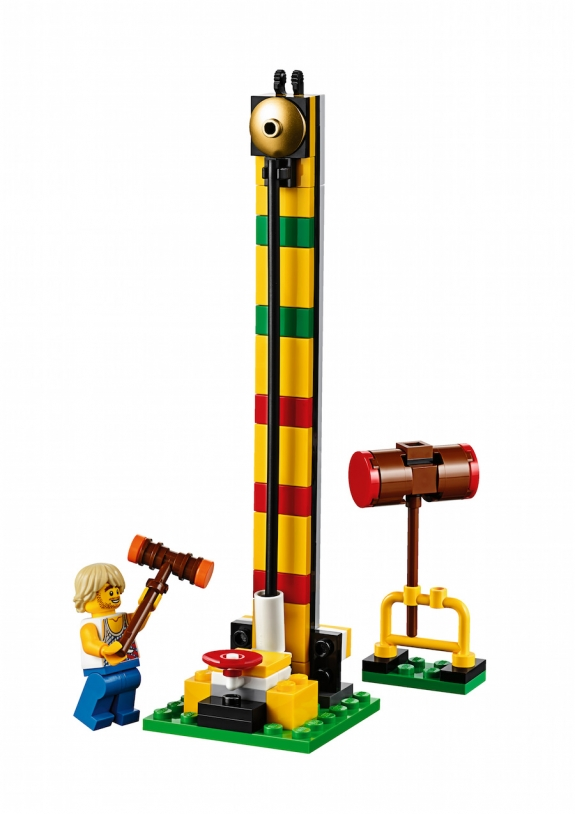 LEGO Fairground Mixer 10244 - Test of Strength