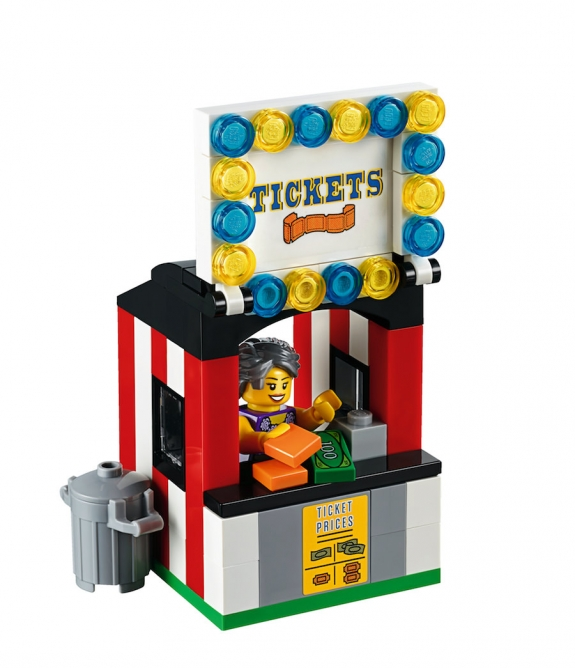 lego fairground mixer 10244 ticket booth
