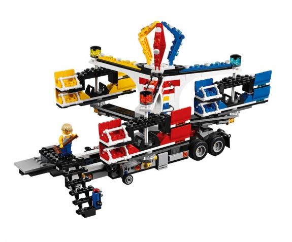 LEGO Fairground Mixer 10244 - Mixer Setup 2