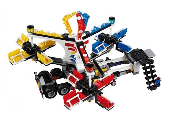 LEGO Fairground Mixer 10244 - Mixer Setup 4