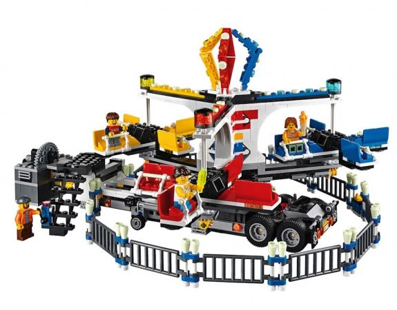 lego fairground mixer 10244 creator set