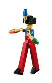 LEGO Fairground Mixer 10244 - Stilt Carnie Minifig