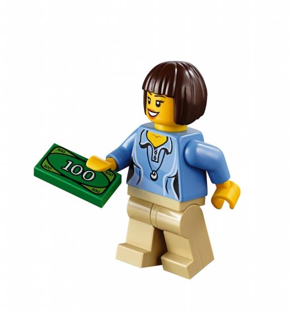 LEGO Fairground Mixer 10244 - Mother minifig
