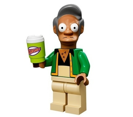 Apu The Simpsons Minifig