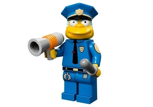 Chief Wiggum The Simpsons Minifig