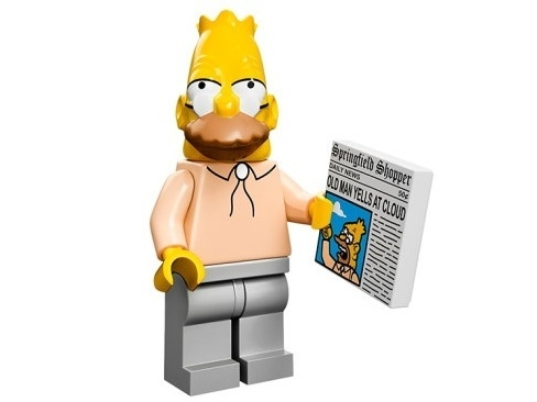 Grandpa The Simpsons Minifig