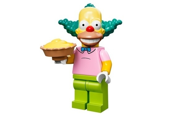 Krusty The Simpsons Minifig