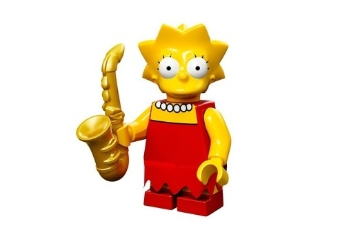 Lisa The Simpsons Minifig
