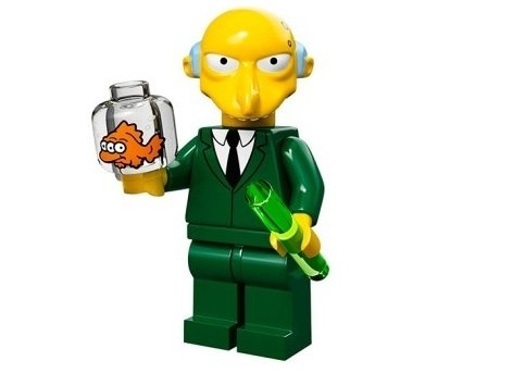 Mr. Burns The Simpsons Minifig