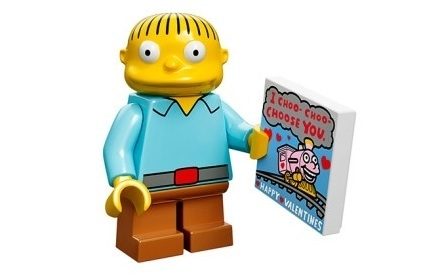 Ralph Wiggum The Simpsons Minifig