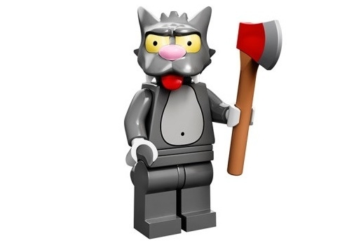 Scratchy The Simpsons Minifig