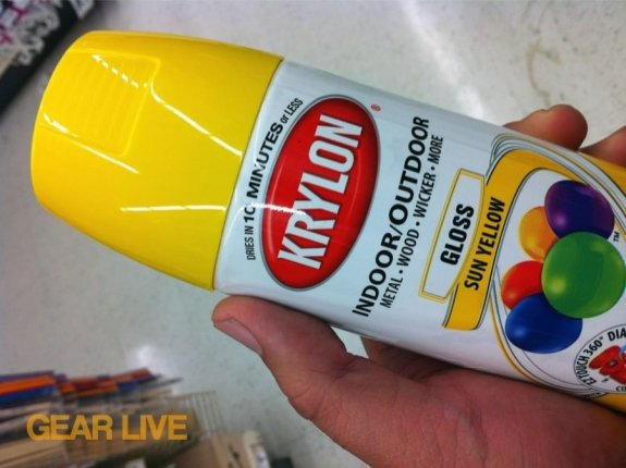 KRYLON Sun Yellow LEGO Paint