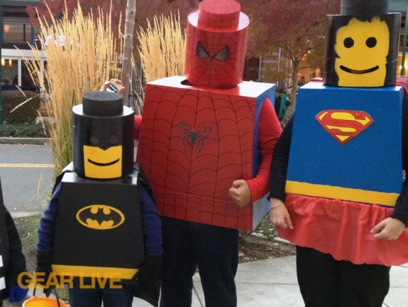LEGO Superhero Halloween costume
