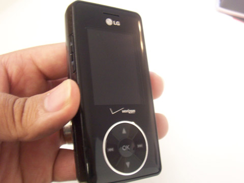The LG Chocolate VX8500