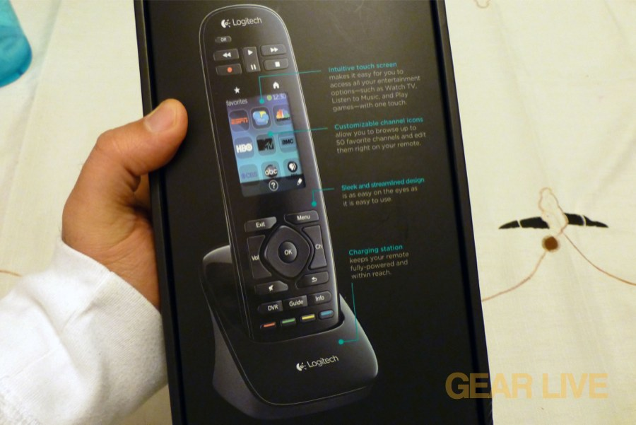 Logitech Harmony Touch box image