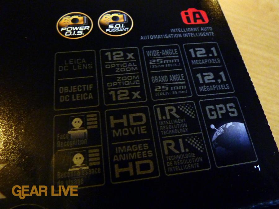 Panasonic Lumix ZS7 stats