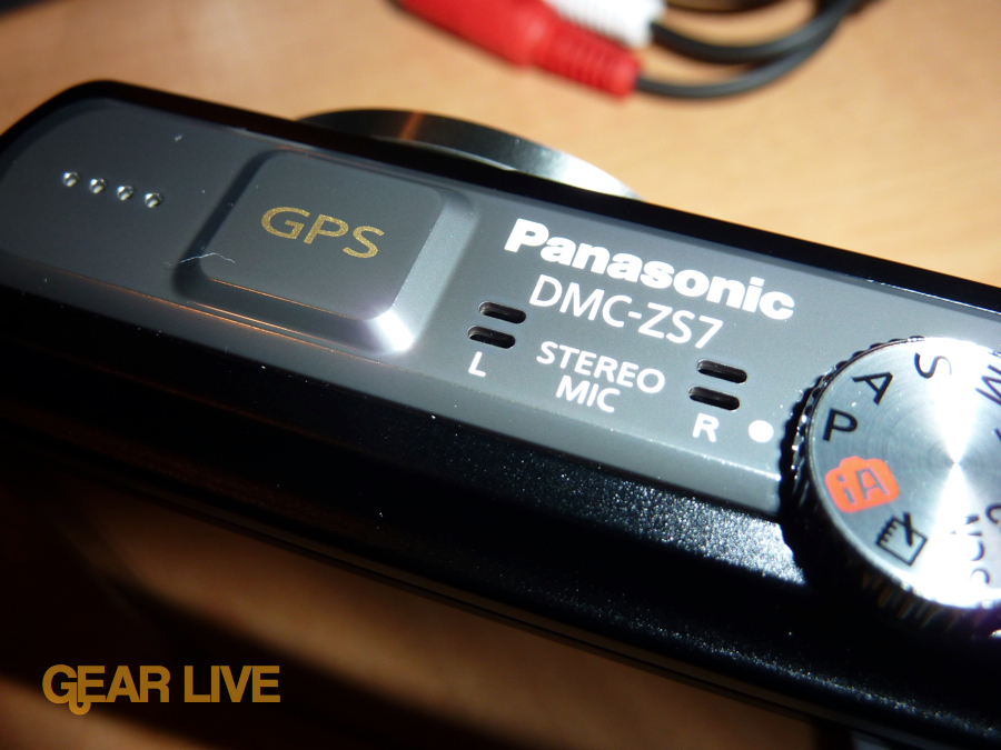 Panasonic Lumix ZS7 GPS and controls