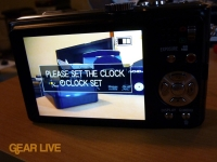 Panasonic Lumix ZS7 setup