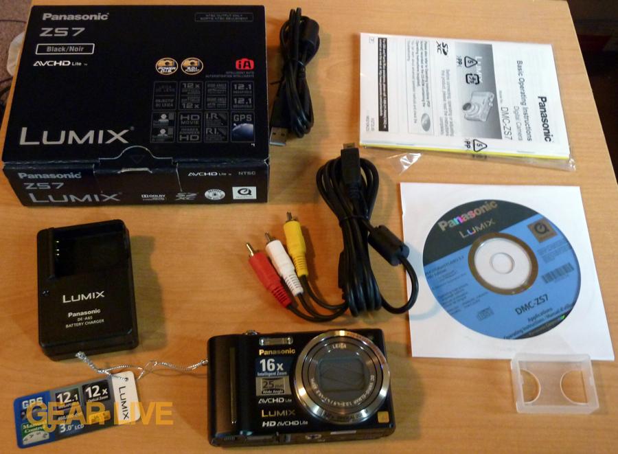 Panasonic Lumix DMC-ZS7 unboxed!