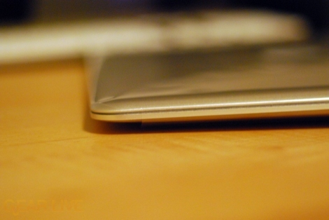 MacBook Air side profile