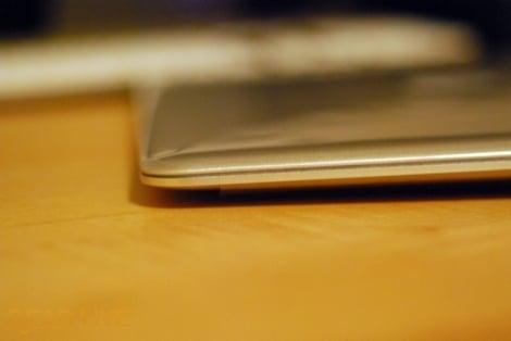 MacBook Air side profile